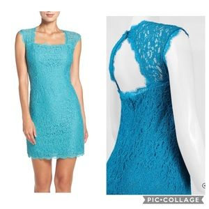 NWT Adrianna papell Lace Sheath Dress Size 4